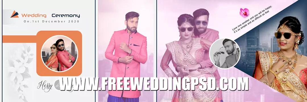 free wedding invitation psd