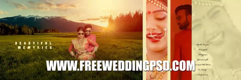 free download wedding invitation psd