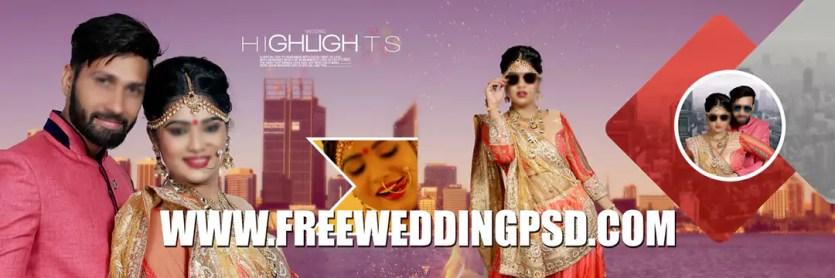 free psd wedding album design download