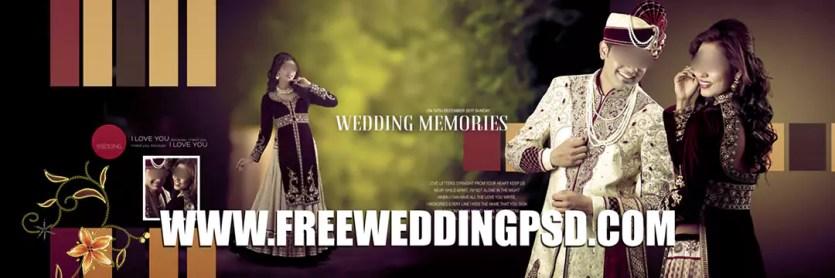 free indian wedding album psd templates