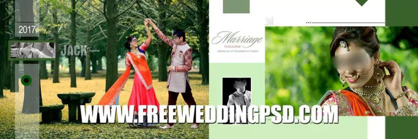 free wedding invitation card psd