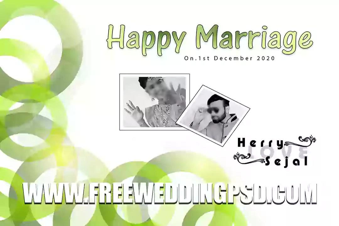 Free Wedding PED #Psd  (50)   Best wedding album design 12×36 psd templates 2020