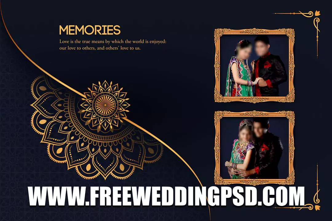wedding album pad design psd 2021 free download