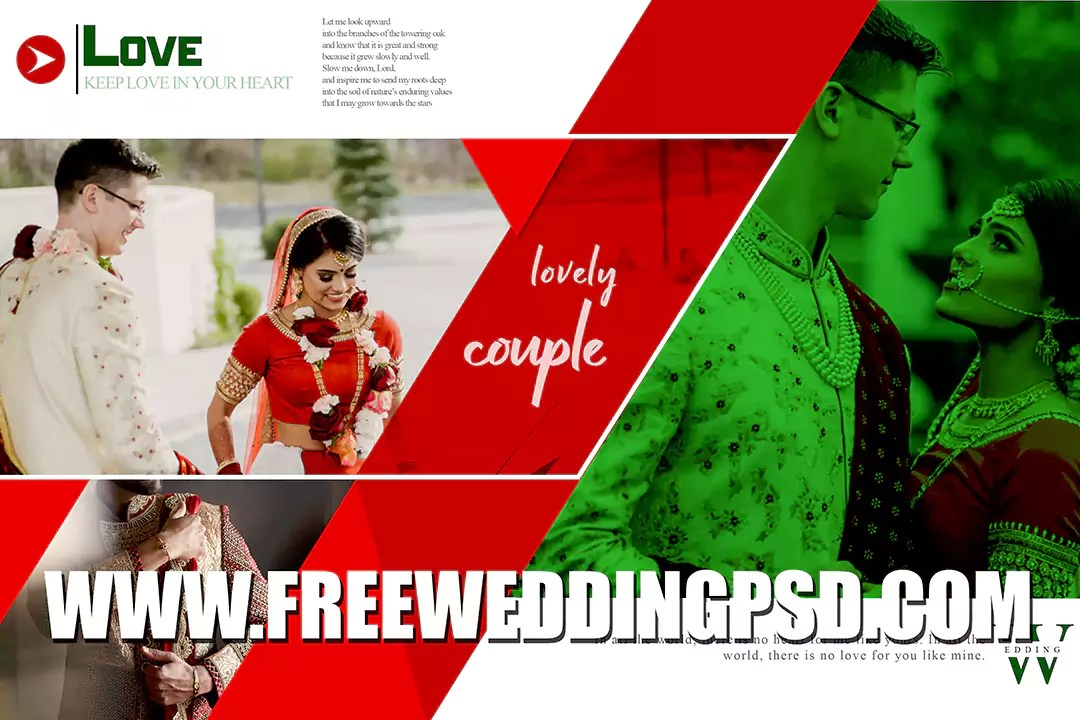 Free wedding Psd album 12×18 templates 2021 collection Download