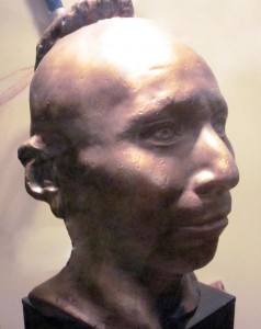 Plaster life cast of Black Hawk, original ca. 1830, at Black Hawk State Historic Site. Via Wikipedia.