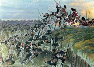 Storming of Redoubt #10. Via Wikipedia.
