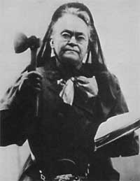 Carrie Nation in 1910