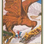 Poster for the 1924 Winter Olympic Games. Via Wikipedia.