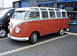 VW Samba Bus.