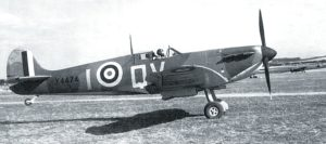 X4474, a late production Mk I Spitfire of 19 Squadron, September 1940. During the battle 19 Squadron was part of the Duxford Wing