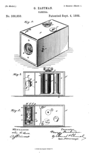 U.S. patent no. 388,850, issued to George Eastman, September 4, 1888