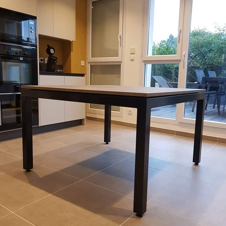 table artisanale sur mesure