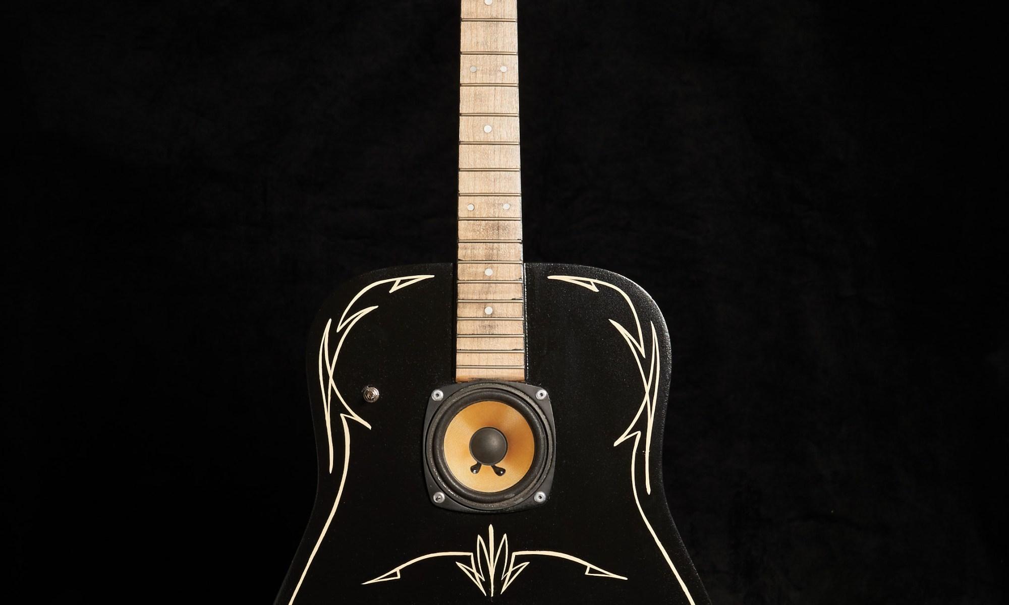 guitare enceinte bluetooth