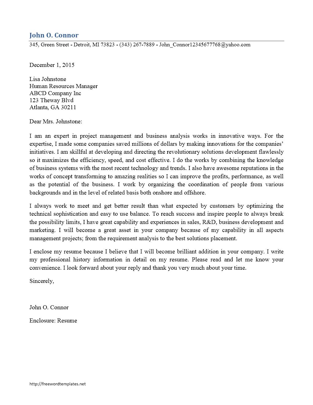 Protect correspondence