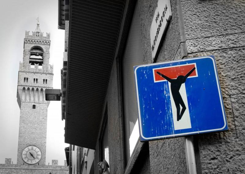 Street Artist Clet Abraham