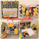 Greetings card (birthday theme) - HIP HIP HOORAY