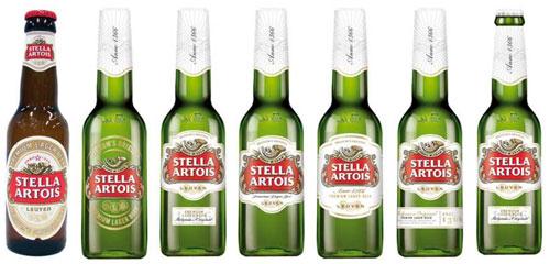 Stella-flesjes (klik voor vergroting)
