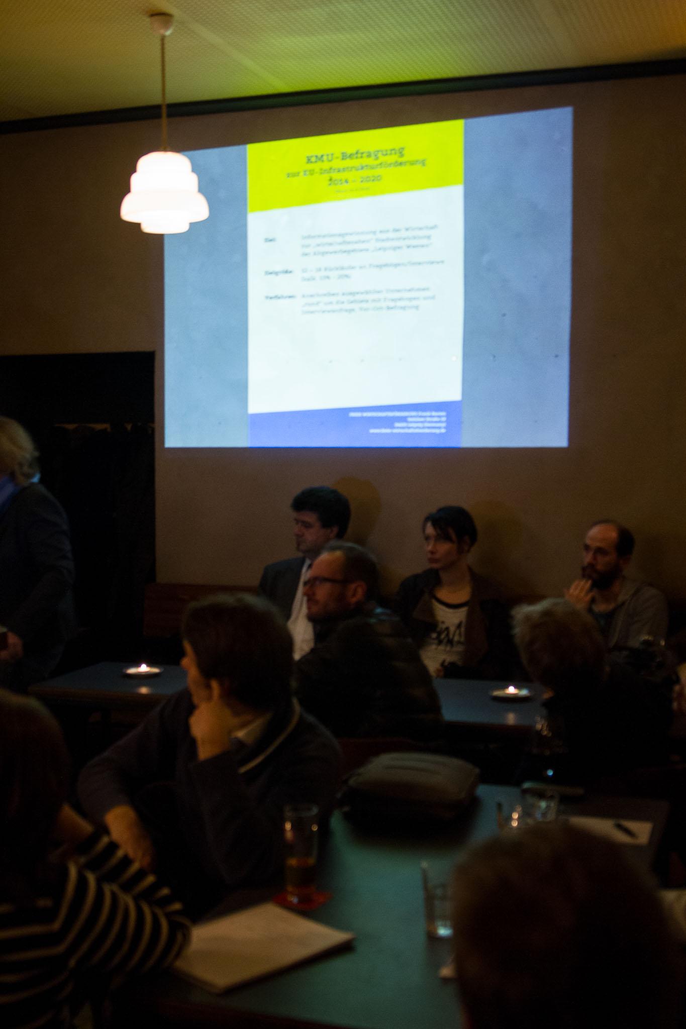 27. Unternehmerstammtisch Leipziger Westen in der RUDI Bar