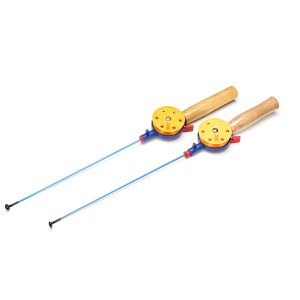43,5 CM Ultraleicht Winter Angelrute Reel Combo Eis Angelrute Mit Angelrolle