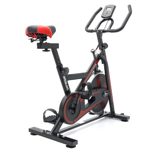 KNS-D003 Heimtrainer LCD Display Indoor Cycling Trainer Fitness Workout Maschine Spinning Bike Stationär