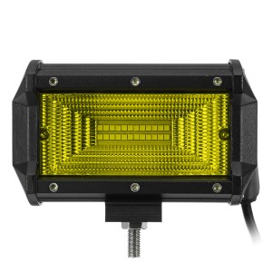 5 Zoll 24LED 72W 7200LM LED-Arbeits-Licht-Flut-Strahl für Jeep Offroad 4WD SUV DC10-30V