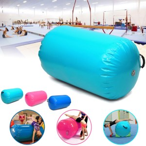 100x85cm Yoga Luftkissenrolle Air Track Tumbling Roll Indoor Sports Fitness