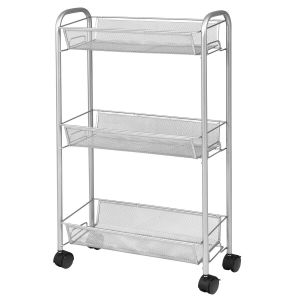 3 Tier Storage Trolley with Wheels