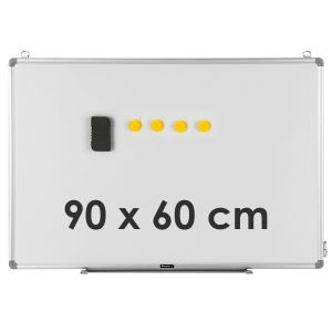 Double Sided Magnetic Wall-Mounted 90 x 60CM Whiteboard
