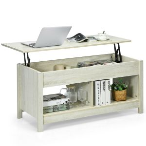 Modern Lift Up Top Coffee Table with Hidden Storage