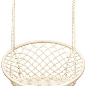 Hammock Swing Chair with Metal Rings. (Stand not Included)