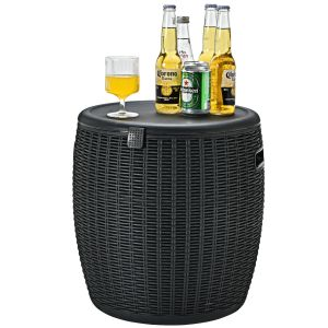 45L Cool Box Stool / Ice Box with Lid