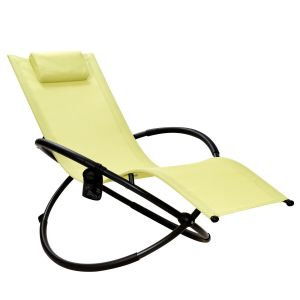 Foldable Rocking Lounge Chair Recliner