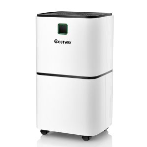Portable Ultra-quiet Electric Dehumidifier 12L with 3 Modes