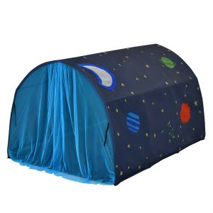 Kid's Bed Portable Pop Up Playhouse with Mosquito Net