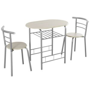 Compact Breakfast Dining Table Set