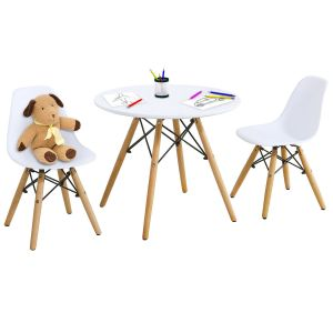 Children's Activity Table and 2 Chairs Set