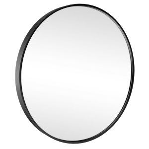 Round Shaped Wall Mirror with Metal Frame