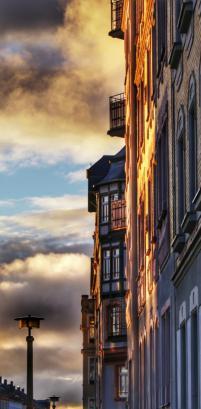 Dieses Bild hat Robert Poser bei einem Spaziergang durch das Stadtviertel Chemnitz - Sonnenberg aufgenommen und das Foto mit der App Snapseed auf dem Handy bearbeitet. Foto: Robert Poser