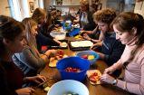 Gemeinsam Pizza backen und diskutieren mit Greenpeace