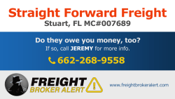 Straight Forward Freight Florida