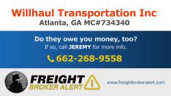 Willhaul Transportation Inc Georgia