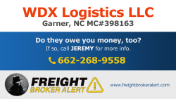 WDX Logistics LLC North Carolina