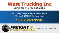 West Trucking Inc Michigan