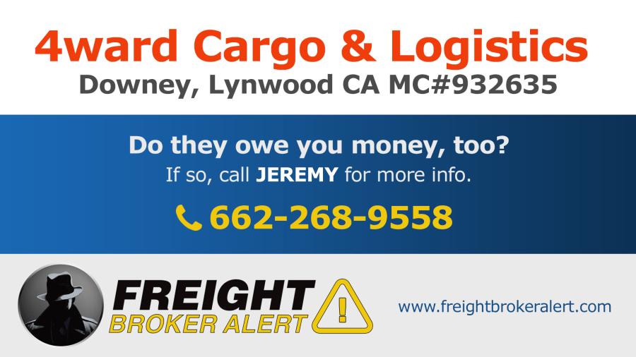 4ward Cargo & Logistics LLC California