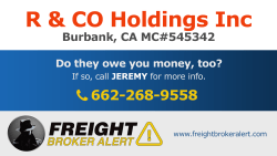 R & CO Holdings Inc California