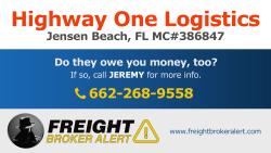 Highway One Logistics Inc Florida