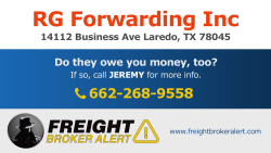RG Forwarding Inc Texas