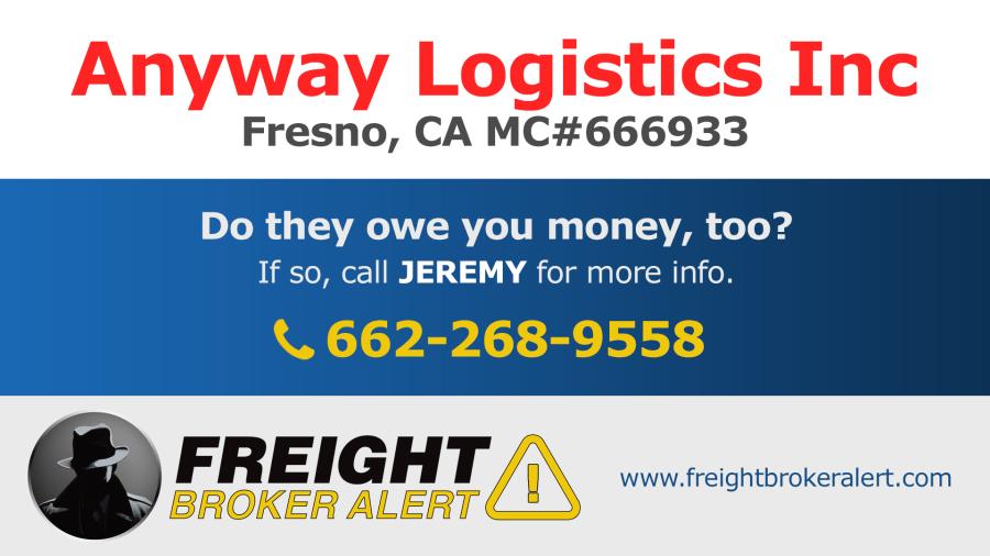 Anyway Logistics Inc California