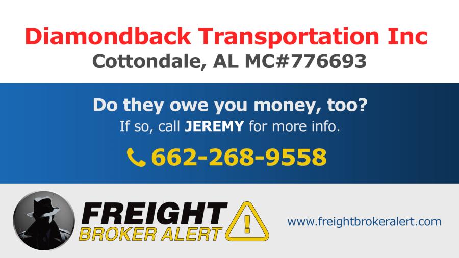 Diamondback Transportation Inc Alabama