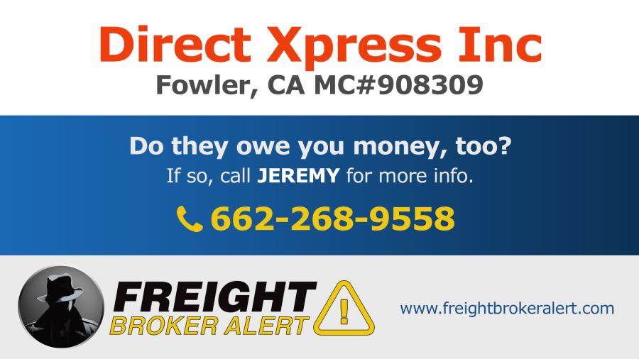 Direct Xpress Inc California